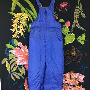 VINTAGE PURPLE SKI SUIT JUMPER OVERALL